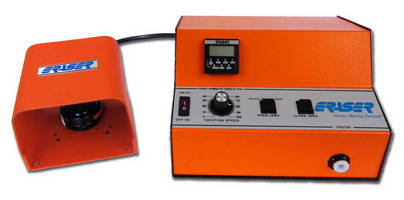Automatic Wire Twister has rugged, benchtop form factor.