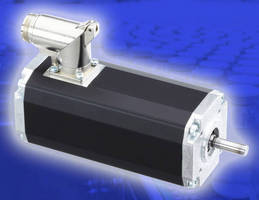 Brushless DC Motors conserve space while maintaining performance.