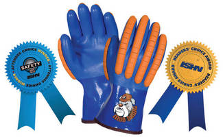 Southern Glove's Mud Dawg(TM) Glove Wins ISHN 2013 Readers Choice Award for Hand Protection