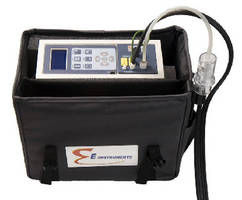 Combustion Analyzer features wireless communication.