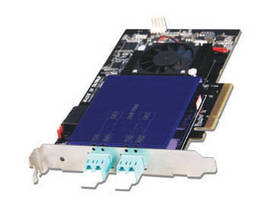 Dual-Port SFP+ SR Network Adapter offers board-to-board bypass.