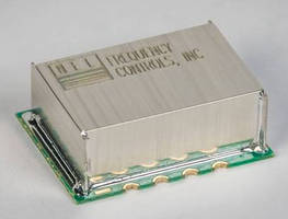 Surface-Mount 100 MHz OCXO comes in 14 x 21 x 6.8 mm package.