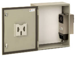 Electronic Enclosures use drip pans to eliminate condensate.