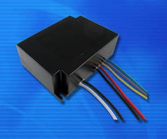 Waterproof 40 W LED Driver offers optional 0-10 V dimming.