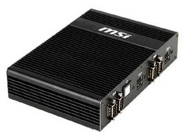 Fanless Embedded PC suits space-critical applications.