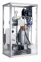 Continuous Oil Purifier utilizes vacuum evaporation.