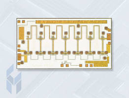 Distributed Driver Amplifier operates from DC to 20 GHz.