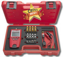 Cable Test Kit offers voice/data/video/length measurement.