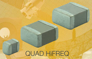 Surface Mount MLCCs serve high-frequency RF applications.
