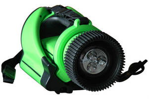 Explosionproof LED Flashlight offers 5 modes of operation.