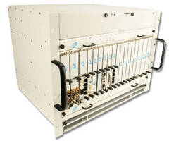 MicroTCA.4 Chassis offers rear I/O options.
