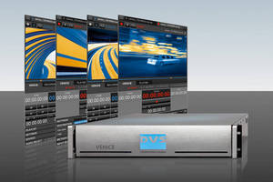 IBC 2013: DVS Redefines Broadcast Production with VENICE