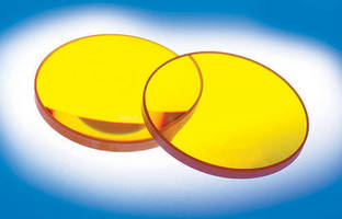 Zinc Selenide Plano-Convex (PCX) Lenses Now Available with 8-12µm AR Coating