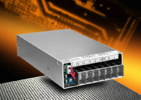 AC-DC Power Supplies achieve up to 90% efficiency.