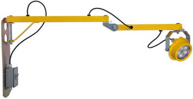 LED Task Light is designed for wet locations.
