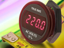 True RMS Self-Powered AC Voltmeter is fully self contained.