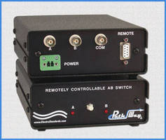 BNC A/B Switches offer remote control.