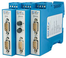 CAN Repeaters reduce wiring and increase system reliability.
