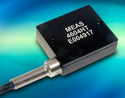 High-Temperature Accelerometer operates in harsh environments.