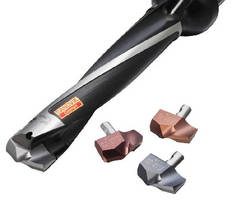 Exchangeable Tip Drill supports stainless steel usage.