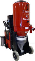Propane-Powered Vacuum promotes safe concrete grinding.