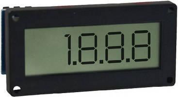 LCD Digital Panel Meter features flush mount design.