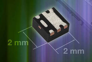 Compact P-Channel MOSFETs offer low on-resistance.