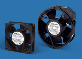 AC Axial Cooling Fans feature UV/Wet location approvals.