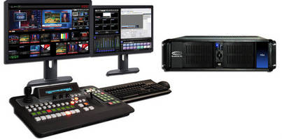 Broadcast Pix Flint Integrated Production System Adds Audio Mixer, New Streaming, and Recording Options at IBC 2013