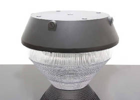 Induction Canopy Luminaire delivers 100,000-hour life.
