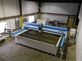 Material Handling Equipment Manufacturer Anderson-Crane Company Installs Jet Edge Waterjet to Increase Productivity, Improve Quality