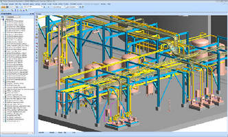 Pdms Software Offers Optimized Piping Capabilities