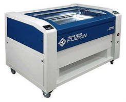 CO2 Laser offers large engraving table in optimized footprint.