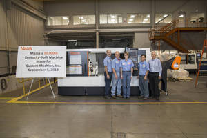 Mazak Rolls Out 30,000th Kentucky-Built Machine