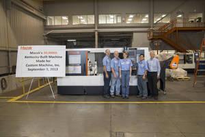 Mazak Rolls Out 30,000th Kentucky-Built Machine