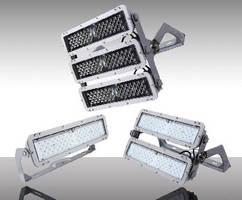 Outdoor LED Flood Lights feature modular housing design.