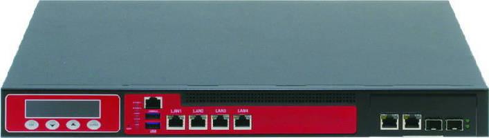 Rackmount Network Appliance provides 4 LAN ports.