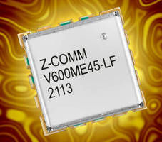 Voltage Controlled Oscillator tunes from 3-6 GHz.