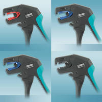 Right-Angle Wire Strippers enable use in difficult locations.