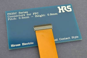 FPC Connectors combines retention force and design flexibility.