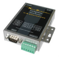Industrial-Grade Serial to Ethernet Converter has 1-port design.