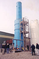Gas Scrubber offers ultra high efficiency gas absorption.