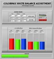 Color Sensors offer white balance adjustment.