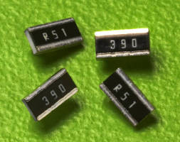 Flat Chip Resistors feature 0.75 W power rating.