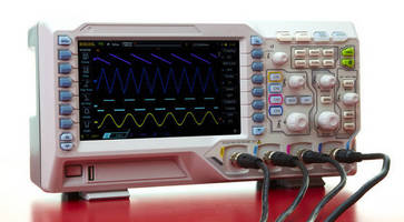 4-Channel Digital Oscilloscope employs UltraVision technology.