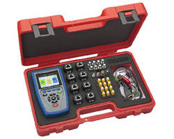 Cable Tester includes report management system.