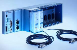 Eddy-Current Displacement Sensors offer 15 mm measurement range.