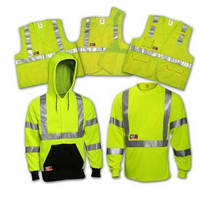 Flame Resistant Apparel has high-visibility design.