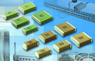 Surface Mount MLCCs suit safety-certified applications.