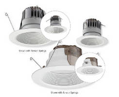LED Downlights offer 46 year service life.